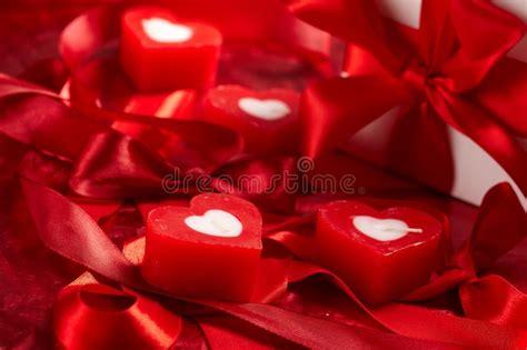 candele romantiche fotografia stock immagine di