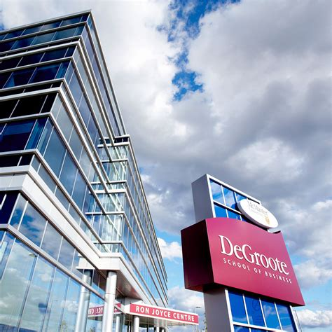 Mcmasters Mba by Degroote School Of Business Mcmaster