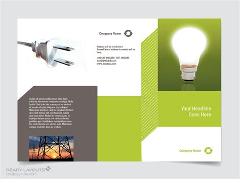 brochure psd template 3 fold awesome free tri fold brochure template
