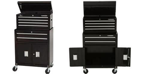 husky 6 drawer tool box home husky 6 drawer rolling tool chest cabinet set