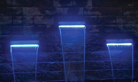 underwater led lights for fountains fountain design ideas