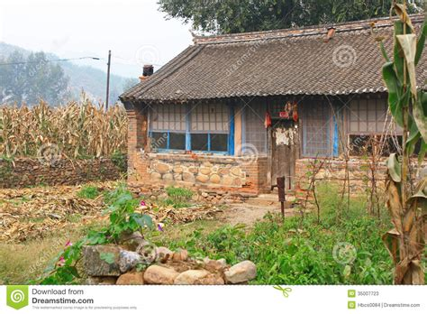 Small Home Villages Small Farm House In China Stock Image Image Of Building