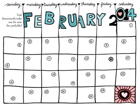 february 2014 calendar template 2014 monthly calendar related keywords suggestions