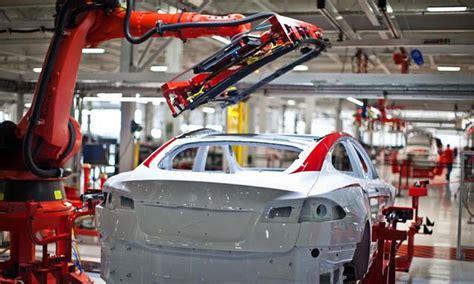 Tesla Model S Factory Tesla Ya Es El Fabricante De Coches Con M 225 S Empleados En