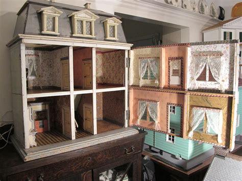 antique doll house susan s mini homes christian hacker antique dollhouse circa 1880
