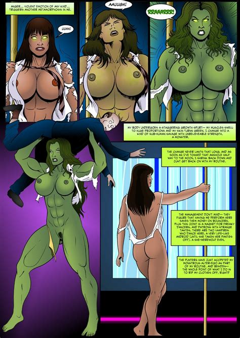 Manic She Hulk Transformation
