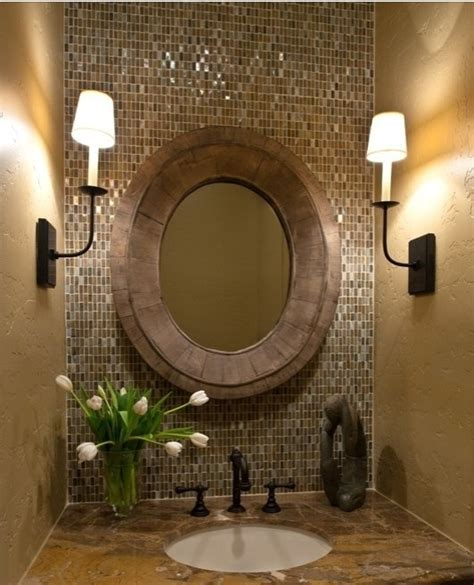 powder room mirrors bathroom mirror powder room for the home