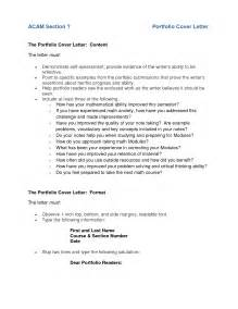 Cover Page For English Portfolio   Cover Letter Templates