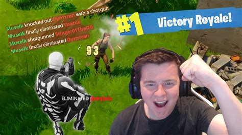 fortnite muselk my best win fortnite