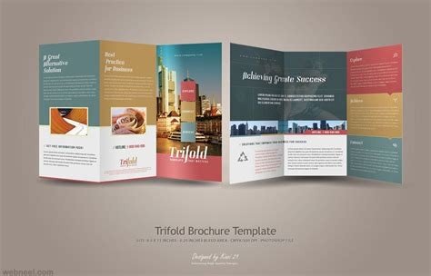 free creative brochure templates creative trifold brochure design 23 preview