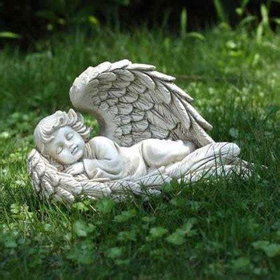 Sleeping Angel Garden Statue   from Viviano Flower Shop