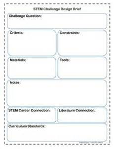 design your own template stem challenge design brief template design your own