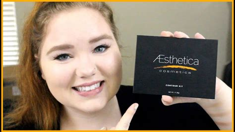 aesthetica contour kit review dupe for aesthetica makeup contour kit reviews saubhaya makeup