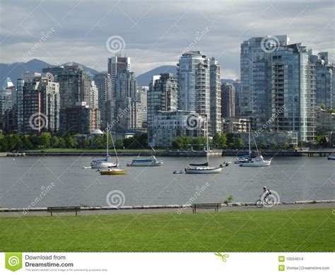 pedal boat vancouver vancouver false creek seawall stock images image 10034614