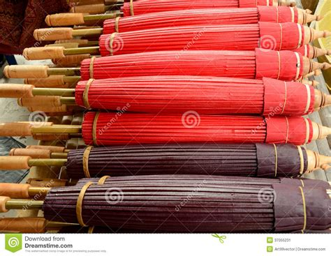 Handmade Bamboo Products - handmade bamboo products stock image image of thailand