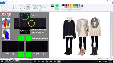 how to make clothes how to make clothes on roblox 2015