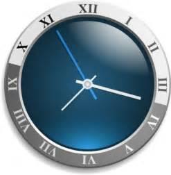 vista style analog desktop clock for windows xp free