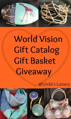 world vision coffee gift world vision gift catalog review giveaway s lunacy