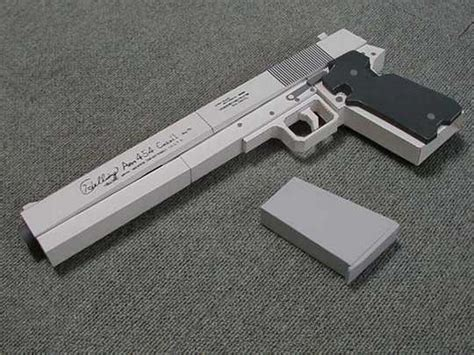 How To Make A Pistol Out Of Paper - guns made out of paper 30 pics nuffy