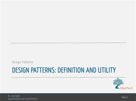 design pattern in software engineering software engineering chp4 design patterns