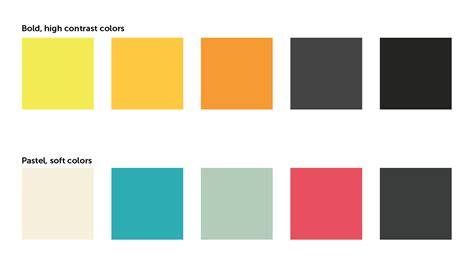 trendy color schemes how to choose the best colors for your presentations