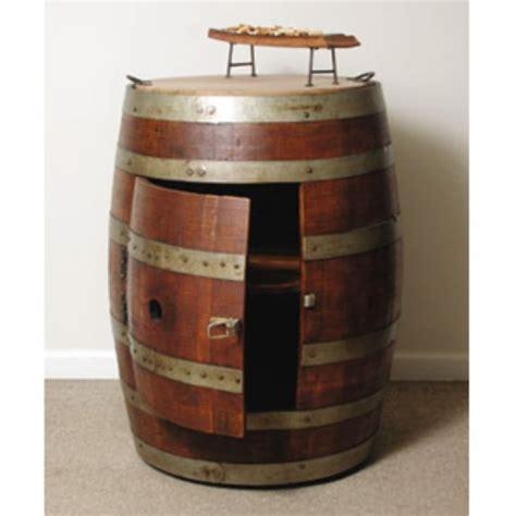 wine barrel liquor cabinet office