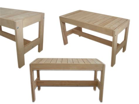 sauna bench wood sauna stools bench lounge stairs wood deck climb wooden