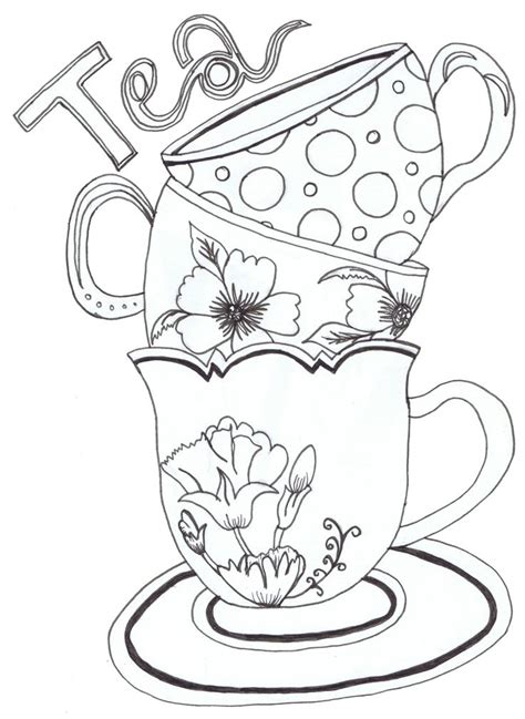 what pattern is used to develop the idea of the text marvellous inspiration ideas teapot printable coloring