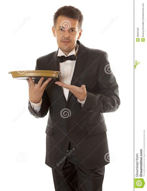 professional waiter stock photography image 36032422
