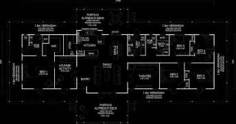 Traditional Queenslander Floor Plan by House Construction Queenslander House Construction