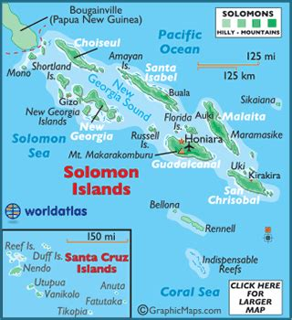 solomon islands map solomon islands map geography of the solomon islands map of the solomon islands worldatlas