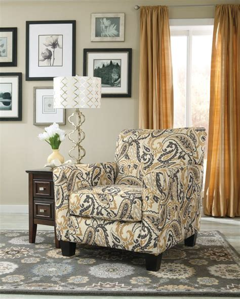 Paisley Living Room Furniture by Gorgeous Paisley Print Accent Chair In Zinnia Desert From