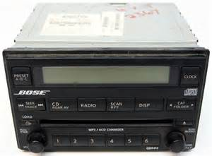 Nissan Pathfinder Audio System 06 Pathfinder Factory Bose System And Dvd Help Car Audio