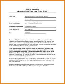 Grant Cover Letter Sle by Doc 728942 Sle Grant Applications Grant Letter Exle Cover Letter Sle Grant