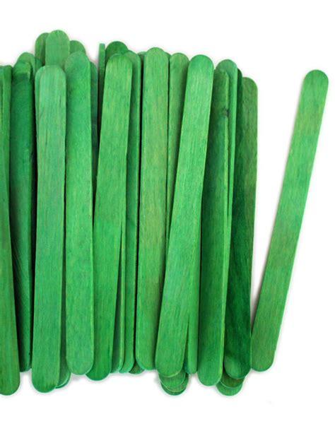 green craft green craft sticks