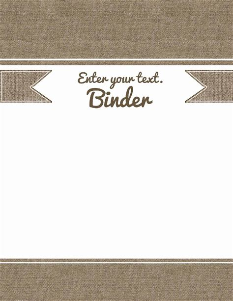 Free Binder Cover Templates Customize Online Print At Home Free Cover Template