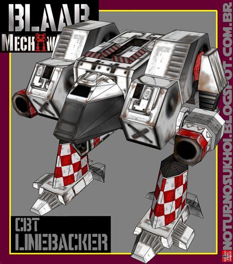 Papercraft Mech - classic battletech papercraft mech paperkraft net