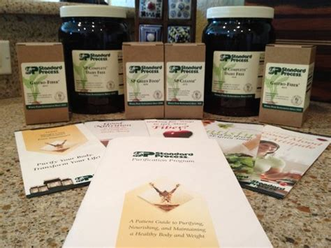 Kit Detox Sp by Standard Process Purification Kit With Sp Complete Dairy