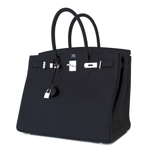 Black Birkin hermes birkin bag 40cm black togo palladium hardware