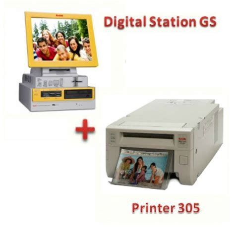 Printer Kodak 305 kodak kiosk gs ref printer 305 new 1 conf carta 640 foto omaggio puntofotonline