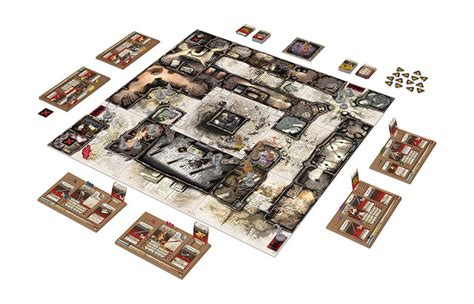 Zombicide Black Plague Board Original Boardgame zombicide black plague board the gamesmen