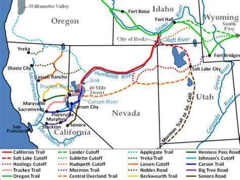california trail map kansas california trail genealogy familysearch wiki