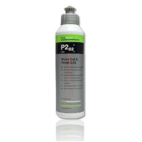 Koch Chemie Micro Cut Finish P2 02 koch chemie p2 micro cut finish 1 litre car cleaning