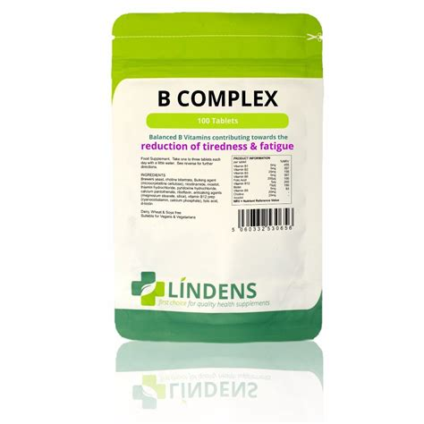 Vitamin B Complex Tablet vitamin b complex tablets 100 tablets zoom health