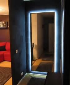 How To Frame A Bathroom Mirror With Molding Ambilight Enabled Hovet Mirror Ikea Hackers Ikea Hackers