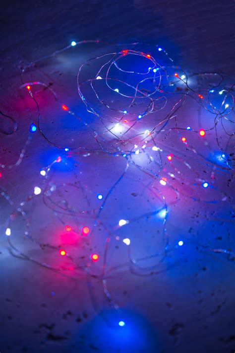 white blue string lights micro led string lights white blue battery op silver