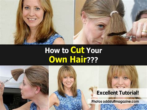 how to cut my own hair in a short shag how to cut your own hair