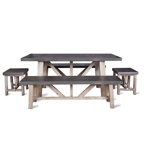 garden trading bench garden trading chilson table and bench set small