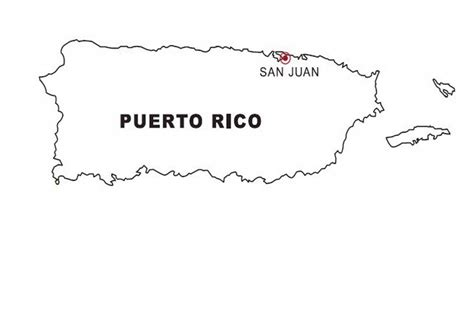 coloring page map of puerto rico puerto rico map coloring color area