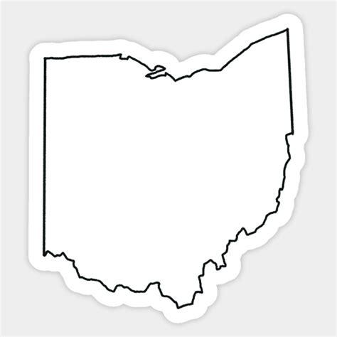 Ohio Outline Sticker